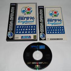 Joc Sega Saturn - UEFA Euro 96 England - Jocuri Sega, Sporturi, Toate varstele, Single player