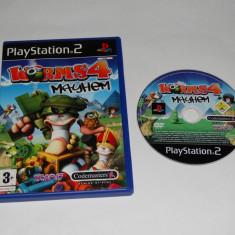 Joc Playstation 2 - PS2 - Worms 4 Mayhem - Jocuri PS2 Sony, Actiune, Toate varstele, Single player