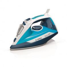 Fier de calcat Bosch Sensixx'x DA30 TDA3028210, 2800 W, Talpa Ceranium-Glissee, 0.32 l, Albastru