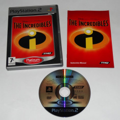 Joc Playstation 2 - PS2 - The Incredibles - Jocuri PS2 Sony, Actiune, Toate varstele, Single player
