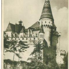 HUNEDOARA CASTELUL CORVINILOR - Carte Postala Transilvania dupa 1918, Circulata, Fotografie