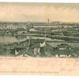 1176 - GALATI, Panorama - old postcard - used - 1903