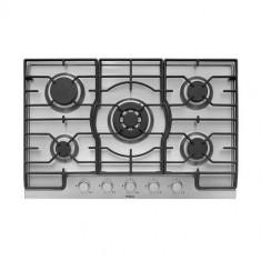 Plita incorporabila Hansa BHGI83111035, Gaz, 5 Arzatoare, Inox, Argintiu, Numar arzatoare: 5