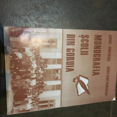Monografia Scolii din Goruia/Banat-Caras Severin - Carte Monografie