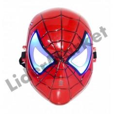 Masca de jucarie Spiderman cu lumini