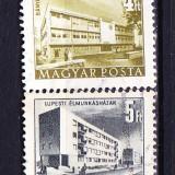 Timbre UNGARIA 1952 = VEDERI URBANE - Timbre straine, Stampilat