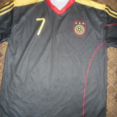 Tricou al Echipei Nationale a Germaniei, Jucator Schweinsteiger, masura XL - Tricou echipa fotbal, Culoare: Negru