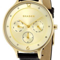 Skagen SKW2393 ceas dama nou 100% veritabil. Garantie.In stoc - Livrare rapida, Casual, Quartz, Inox, Piele, Data