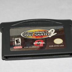 Joc Nintendo Gameboy Advance GBA - Tony Hawk's Pro Skater 2 - Jocuri Game Boy Altele, Actiune, Toate varstele, Single player