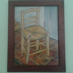 Tablou in ulei Vincent Van Gogh semnat si datat - Pictor strain, Natura statica, Realism