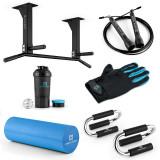 CAPITAL SPORTURI Fitness Set Starter Negru Albastru