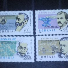 Romania 1998-LP 1450-Secolul XX-I, nestampilate. - Timbre Romania