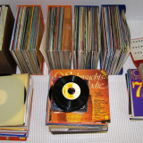 Lot discuri vinil LP cu muzica diversa in jur de 200 bucati(263)