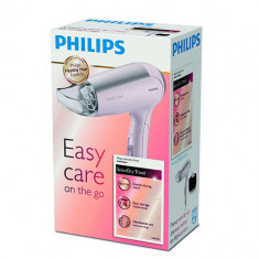 Uscator Par Philips HP4940/00, 1600 W, 3 viteze, Roz - Uscator de Par