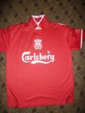 Tricou al Echipei de Fotbal Liverpool,Anglia- Jucator Owen,masura XL, Rosu