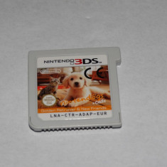 Joc consola Nintendo 3DS - Nintendogs + Cats - Jocuri Nintendo 3DS, Shooting, 12+, Single player