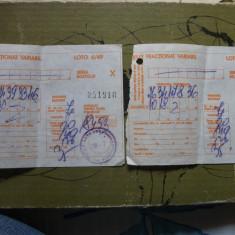 Bilet loto 6 din 49-1993 - Bilet Loterie Numismatica