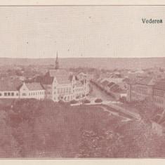 DEVA, VEDERE GENERALA, EDITURA LIBRARIA ROMANEASCA S. A., DEVA - Carte Postala Transilvania dupa 1918, Necirculata, Printata