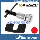 Dispozitiv universal de comprimare pistoane de frana   scule pentru service