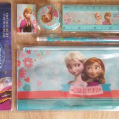 Set 5 piese rechizite Disney Frozen - Set rechizite
