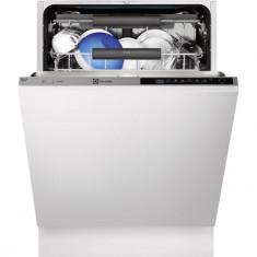 Masina de spalat vase incorporabila Real Life Electrolux ESL8316RO, Touchcontrol, 15 Seturi, 6 Programe, Clasa A++, 60 cm, Gri, Numar programe: 6, A++