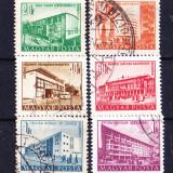 Timbre UNGARIA 1951 = VEDERI URBANE - Timbre straine, Stampilat