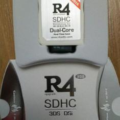 Card modare R4i dualcore rts ds dsi v1.45 - 3ds v11.3.0-36 R4 2016 + microsd 8G, Card memorie