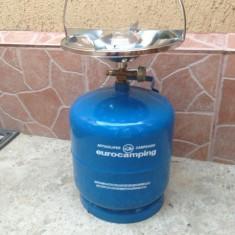 Butelie 5 Litri CAMPING \ VOIAJ cu arzator !!!! - Aragaz/Arzator camping