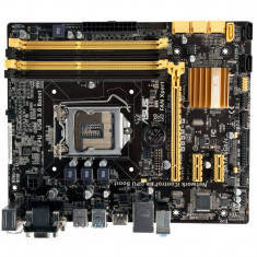 Placa de baza ASUS, Socket LGA1150, 4xDDR3, SATA3, Chipset B85....GARANTIE 1 AN!, Pentru INTEL, MicroATX