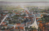 DEVA , VEDERE GENERALA , ED. HIRSCH ADOLF , DEVA , CIRCULATA 1921, Printata