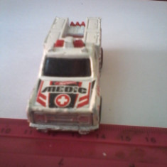 Bnk jc Hot Whells - ambulanta 1974 - Macheta auto Hot Wheels