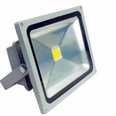 Proiector LED 50w lumina rece Echivalent 500w 4500 lumeni - Corp de iluminat, Proiectoare