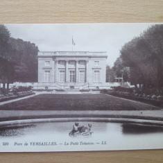 Carte postala necirculata Franta anii'20 Versailles - Le Petit Trianon, Printata