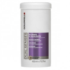 Goldwell Dualsenses Blondes & Highlights Intensive Treatment masca pentru păr blond 450 ml