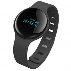 Bratara Fitness iUni F02, Bluetooth, Activity and Sleep, Negru