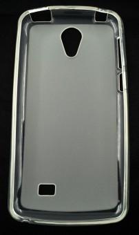 Husa plastic siliconat Vodafone Smart Platinum 7 TRANSPARENT foto