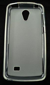 Husa plastic siliconat Vodafone Smart Platinum 7 TRANSPARENT foto mare