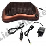 Perna portabila cu masaj - auto sau pentru acasa - Perna masaj
