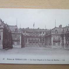 Carte postala necirculata Franta anii'20 Versailles, Printata