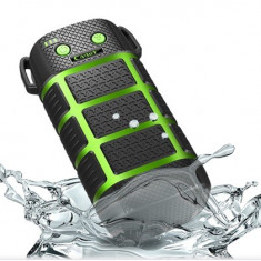 BATERIE EXTERNA Cager WP10, waterproof, 5200 mAh | CADOU Cablu incarcare 2 in 1, Universala