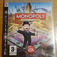 PS3 Monopoly - joc original by WADDER - Jocuri PS3 Electronic Arts, Board games, Toate varstele, Multiplayer
