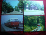 Set 4 Ilustrate - Locomotive vechi , Ungaria