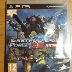 PS3 Earth defence force 2025 Sigilat - joc original by WADDER - Jocuri PS3 Altele, Actiune, 12+, Multiplayer