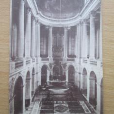 Carte postala necirculata Franta anii'20 Versailles - interieur de la Chapelle, Printata