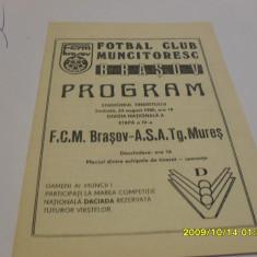 Program FCM Brasov - ASA Tg. Mures - Program meci