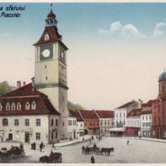 BRASOV, CASA SFATULUI, ED. LIBRARIA BENKO, BRASOV - Carte Postala Transilvania dupa 1918, Necirculata, Printata