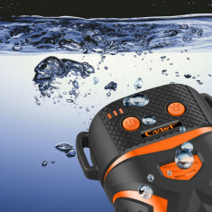 BATERIE EXTERNA Cager WP11, waterproof, 5200 mAh | CADOU Cablu incarcare 2 in 1, Universala