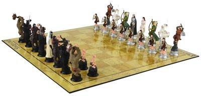 Joc De Sah Lord Of The Rings 3d Chess Characters Stoc
