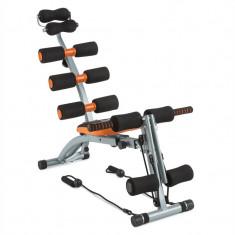 CAPITAL DE SPORT Sixish Core Bauchtrainer Bodytrainer portocaliu / negru