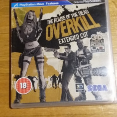 PS3 The house of the dead overkill extended cut / 3D comp - joc orig by WADDER - Jocuri PS3 Sega, Actiune, 18+, Multiplayer